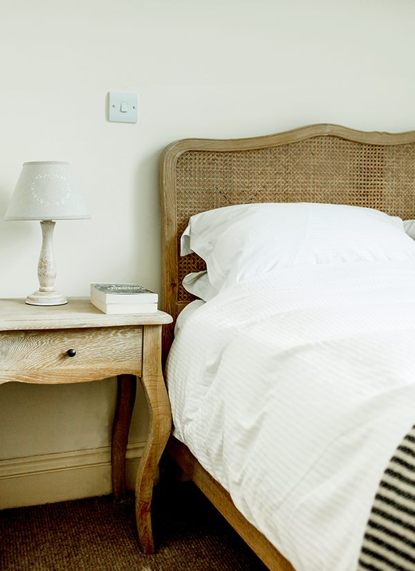 Upstairs at the Cheese Market provides elegant accommodation for two in the centre of Hay-on-Wye.